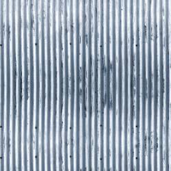 Corrugated - Blue