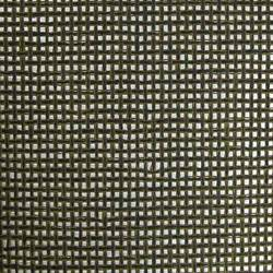 Black and Olive Paper Weave on Silver - WND202