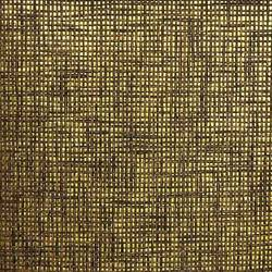 Brown and Black Paper Weave on Gold - WND211