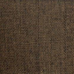 Brown and Black Paper Weave on Black - WND214