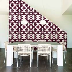 Lattice, Berry - Wallpaper Tiles