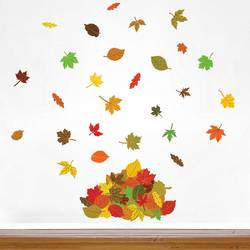 Falling Leaves - Wall Decals