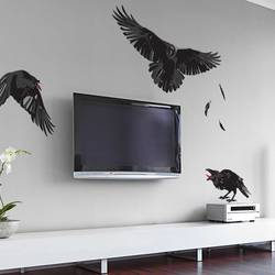 Midnight Ravens - Halloween Wall Decal