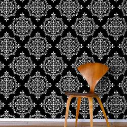 French Kiss, Noir - Wallpaper Tiles