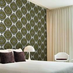 Gypsy, Ochre - Wallpaper Tiles