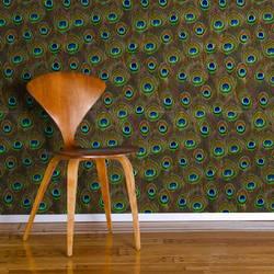 Eye of the Peacock - Wallpaper Tiles