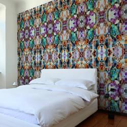 Tie Dye, Rainbow - Wallpaper Tiles