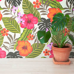 Tropical Fiesta - Wallpaper Tiles