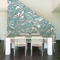 Shale, Pool - Wallpaper Tiles