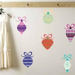 Holiday Ornaments - Christmas Wall Decal