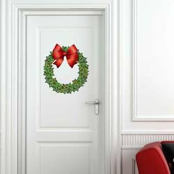 Holiday Wreath - Christmas Wall Decal
