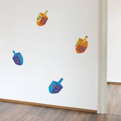 Small Dreidel - Hanukkah Wall Decal