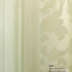 Various Neautral Stripe Overlap Beige Leaf