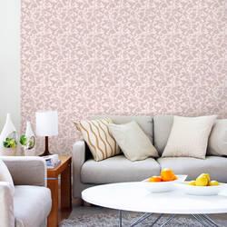 Pájaros, Pink - Wallpaper Tiles
