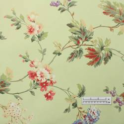Light Green Floral Wallpaper: LY-4443