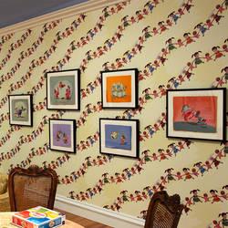 Giggle Pop - Gary Baseman Wallpaper Tiles