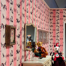 Vicious - Gary Baseman Wallpaper Tiles