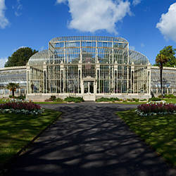 The Curvilinear Glass House, The National Botanic Gardens, Dublin City, Ireland