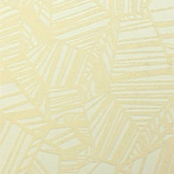 Plush Flocked Wallpaper Pyrite White/White Velvet