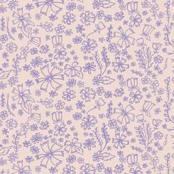 Flower Doodle, Lavender