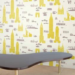 Manhattan - Yellow Grey
