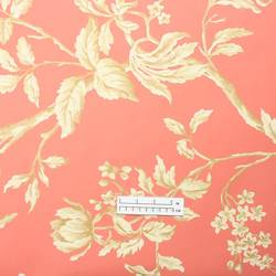 Traditional floral leaf wallpaper: FN-3695
