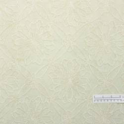 Off-white, tan floral wallpaper: LG-3421