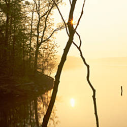 Lake at sunset, Caesar Creek Lake, Caesar Creek State Park, Ohio, USA