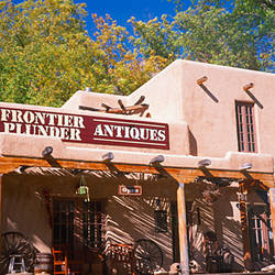 Facade of an antique shop, Springdale, Washington County, Utah, USA