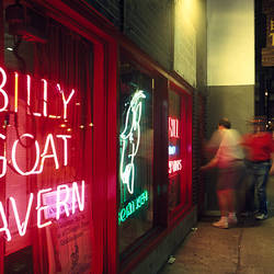 Bar, Billy Goat Tavern, Chicago, Cook County, Illinois, USA