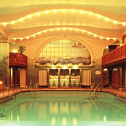 Interiors of a bathhouse, Centralbadet, Stockholm, Sweden