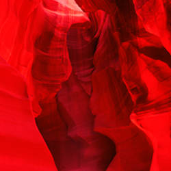 Sunlight passing through rock formations, Antelope Canyon, Lake Powell Navajo Tribal Park, Arizona, USA