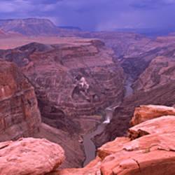 River passing through a canyon, Toroweap Overlook, North Rim, Grand Canyon National Park, Arizona, USA
