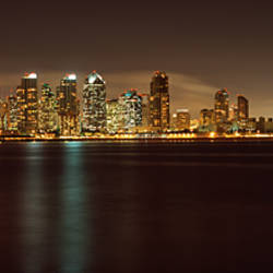 Buildings at the waterfront, San Diego, California, USA 2010