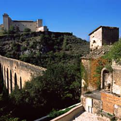 Bridge across a valley, Festival dei Due Mondi, Apennines, Spoleto, Perugia, Umbria, Italy