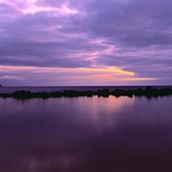 Sunrise over the sea, North Avoca, New South Wales, Australia