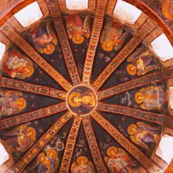 Frescos in a church, Kariye Museum, Holy Savior in Chora Church, Istanbul, Turkey