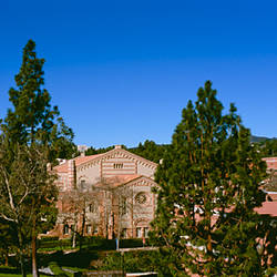 High angle view of a building, Kaufman Hall, UCLA Anderson School of Management, City of Los Angeles, California, USA