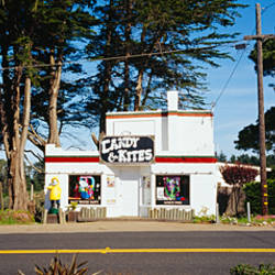 Store at a road side, California, USA