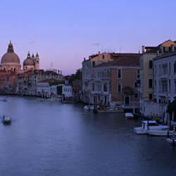 Buildings Along A Canal, Santa Maria Della Salute, Venice, Italy
