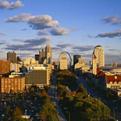 High Angle View Of A City, St. Louis, Missouri, USA