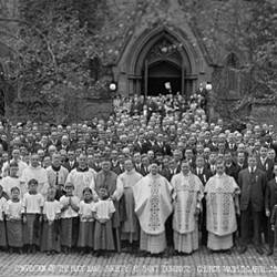 Convention of the Holy Name Society at Saint Dominic?s Church Washington DC April 29 1917