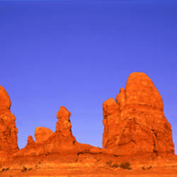 Red Rocks, Arches National Park, Utah, USA