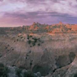 USA, South Dakota, Badlands National Park, dawn