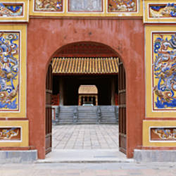 Entrance, The Citadel, Hue Imperial City, Vietnam