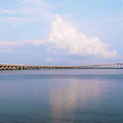 Bridge over an inlet, Oregon Inlet, Outer Banks, North Carolina, USA