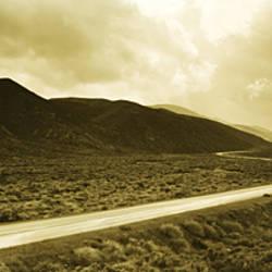 Big Pine Road Death Valley area Owens Valley CA USA