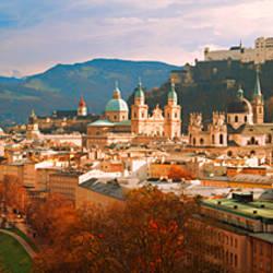 Cityscape Salzburg Austria