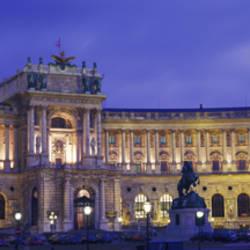 Hofburg Imperial Palace, Heldenplatz, Vienna, Austria
