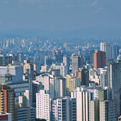 Aerial view of a city, Sao Paulo, Brazil